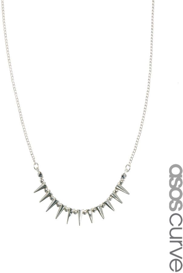 Asos Mini Spike Choker Necklace