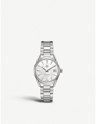 Tag Heuer WAR1311.ba0773 Carrera stainless steel and mother-of-pearl watch