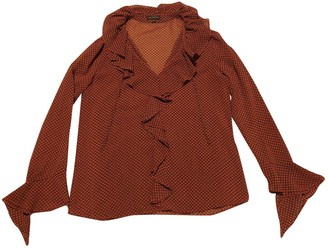 Adolfo Dominguez Red Top for Women