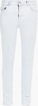 IRO Jelsa Distressed Mid-rise Skinny Jeans