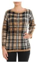 Les Copains Women's Multicolor Wool Sweater.