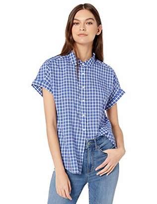 Goodthreads Lightweight Poplin Short-sleeve Button-front ShirtXS