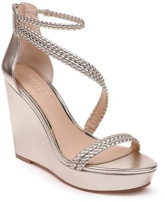 Badgley Mischka Suzy Platform Wedge Sandal