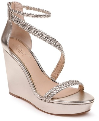 Badgley Mischka Suzy Platform Wedge Sandal