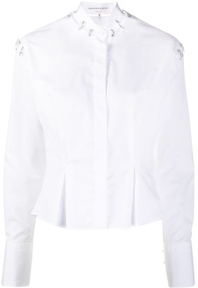 Ermanno Scervino Embellished Long-Sleeve Shirt