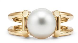 Tiffany & Co. City HardWear South Sea pearl ring in 18k gold