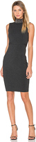 Milly Gem Collar Sheath Dress in Charcoal. - size L (also in )