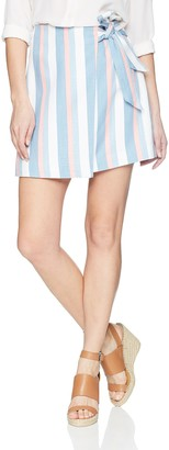 Finders Keepers findersKEEPERS Women's Instinct TIE Belt Mini Skirt