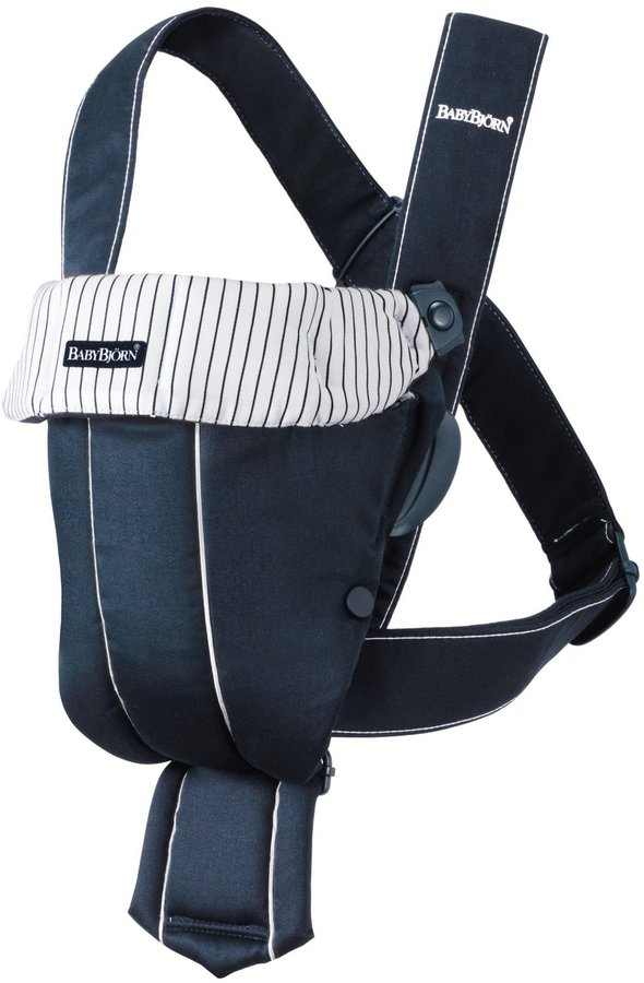 BABYBJÖRN Baby Carrier Original Classic - Dark Blue/Stripes