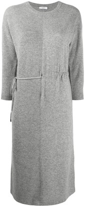 Peserico Panelled Knitted Dress