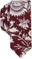 Original Penguin Men's Pebrican Floral Skinny Linen Tie