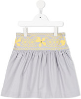Familiar embroidered strap skirt - kids - Cotton - 6 yrs