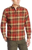Wolverine Men's Redwood Brawney Weight Two Sided Brushed Flannel Shirt