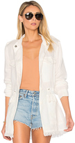 Sanctuary Too Cool For School Jacket in White