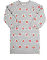 Stella McCartney Star-Print Sweatshirt Dress-GREY