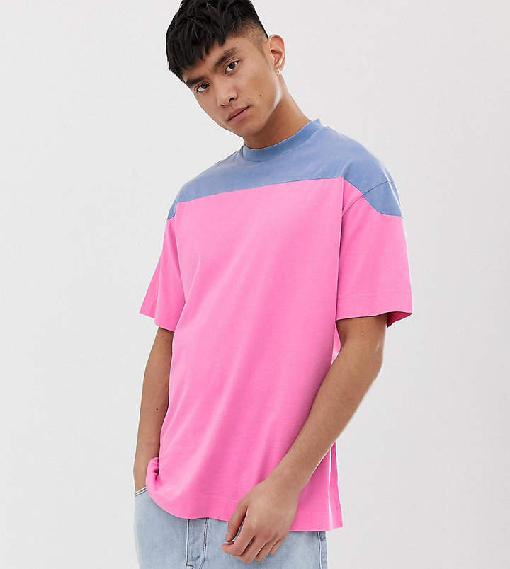7084e582f79 Mens Colour Block Tshirt - ShopStyle UK