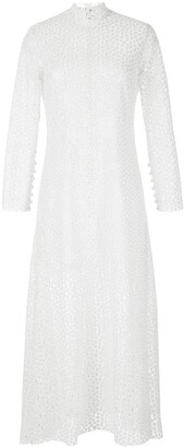 macgraw embroidered New Lyrical dress