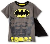 Batman Toddler Boys' Caped Tee Shirt