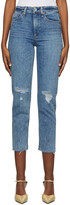 Thumbnail for your product : Rag & Bone Indigo Nina Cigarette Jeans