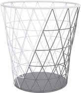 Petunia Pickle Bottom Southwest Skies Wire Clothes Hamper, Gray/White
