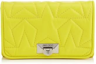 Jimmy Choo Small Velvet Helia Clutch Bag