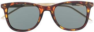 Carrera Tortoiseshell-Effect Square Sunglasses