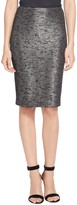 St. John Anaya Sequined Knit Skirt