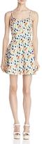 Alice + Olivia Nella Button-Front Dress