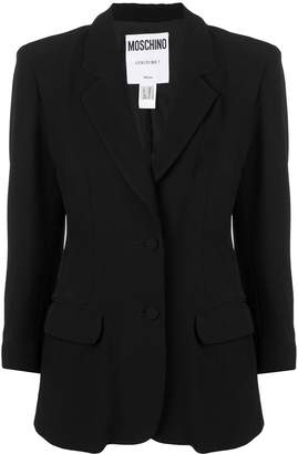 Moschino Pre-Owned playing card blazer