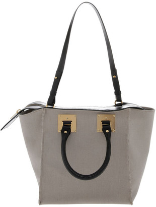 Sophie Hulme Albion Cube Double Handle Tote Bag
