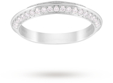 Jenny Packham Brilliant Cut 0.35 Carat Total Weight Wedding Ring in Platinum