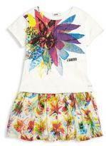 Junior Gaultier Toddler's, Little Girl's, & Girl's Gipsy 3D Venise Dress