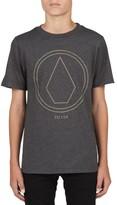 Volcom Boy's Pin Line Stone T-Shirt