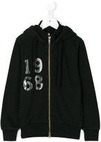 Sun 68 1968 print zip hoodie
