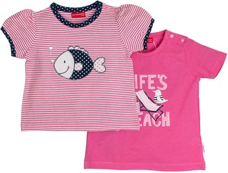 Salt&Pepper Salt and Pepper Baby Girls' B Multiset T-Shirt Beach Life