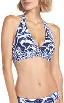 Tommy Bahama Women's Pansey Petals Reversible Bikini Top