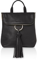 Whistles Verity Tassel Leather Backpack