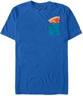 Fifth Sun Men's Tee Shirts ROYAL - Royal Blue Pizza Tee - Men