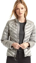 Gap ColdControl Lite metallic puffer jacket