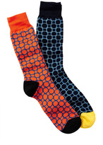 Jared Lang Linked Crew Sock - Pack of 2