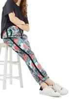 Topshop Women's Kylie Camo Jogger Pants
