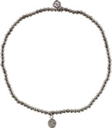 Sydney Evan Baby Diamond Disc Charm Beaded Bracelet