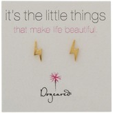 Dogeared It's the Little Things Bolt Studs Earring