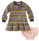 Kate Spade Girls' Stripe Dress & Bloomers Set - Baby