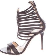 Jerome C. Rousseau Leather Sacli Sandals