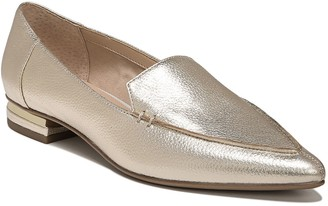 Franco Sarto Slip-On Pointed Toe Leather Loafers - Starland