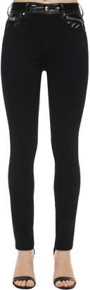 Versace Cotton Blend Denim Jeans