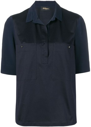 Les Copains concealed front shirt