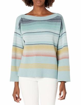 Pendleton Women's Horizon Cotton Stripe Sweater