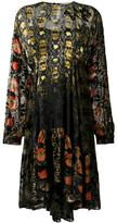 Preen by Thornton Bregazzi mixed pattern midi dress